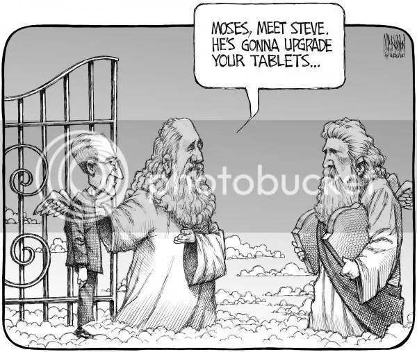Steve Jobs encontra Moisés