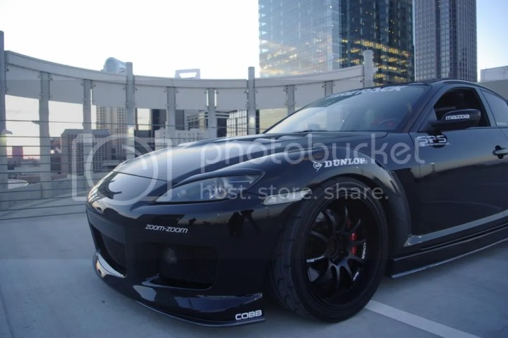 Michael Kuhn's Mazda RX-8 - photo by Jeff Narus