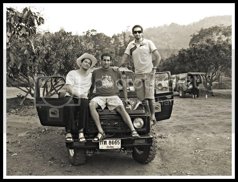 Thailand, Jeep Trek, Royi Avital
