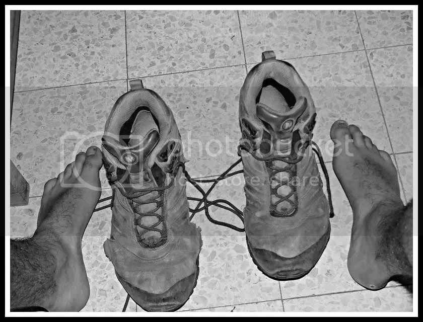 Israel, Feet, Trekking Boots