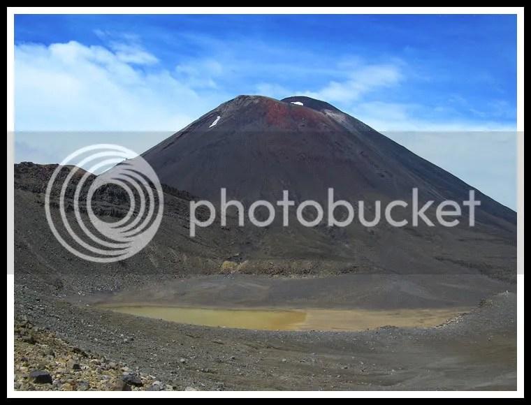 New Zealand - Tongariro Crossing, Mt. Doom, Mount Ngauruhoe