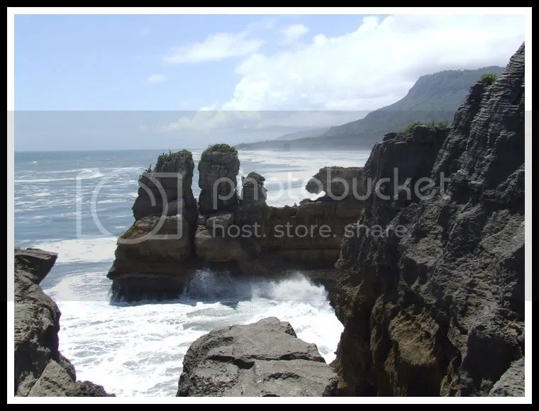 New Zealand - Punakaiki - Pancake Rocks