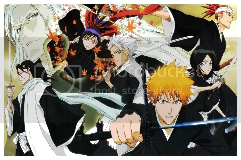 This is the Japanese anime, Bleach