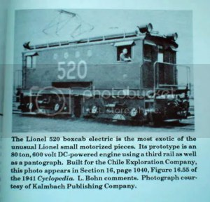 Lionel #520 Boxcab engine  Classic Toy Trains Magazine