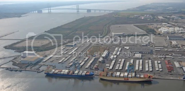 Delaware's Port From Final Approach to NCC Airport