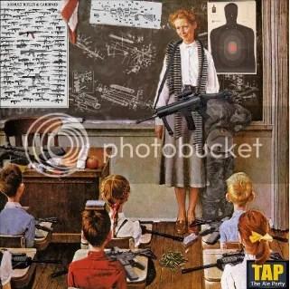 Norman Rockwell's Ideal of American Children in School