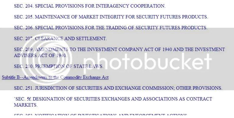 The December 14th Bill missing Sec.208