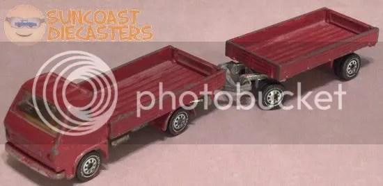 Siku lumber truck & trailer 01