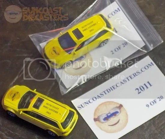 Suncoast Diecasters 2011 Club Vehicle: Matchbox Audi RS6 Avant