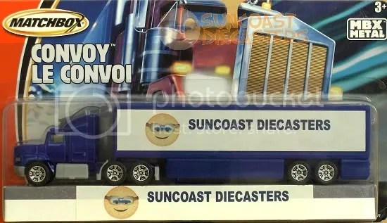 Suncoast Diecasters 2006 Club Vehicle: Matchbox Convoy CY115_05a Ford Aeromax