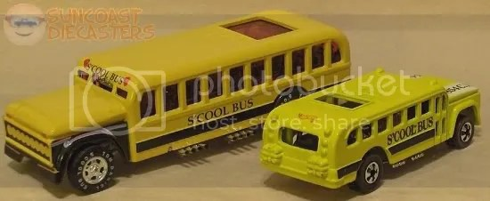 Tom Daniel's S'Cool Bus (Hot Wheels, Toy Zone)