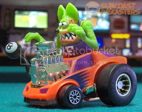 OK, I admit I have *no idea* what Rat Fink actually sounds like.
