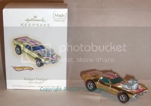 ToyCarGuy's Rodger Dodger - box and ornament