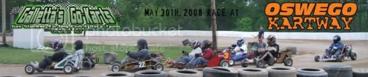 Galletta's @ Oswego Kartway on 5/30/2008