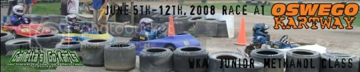 WKA Junior Karts on 6/5-12/2008 at Oswego Kartway