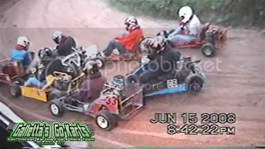 Karting Pileup (Supermodified Yard Karts)