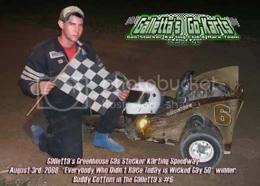 8/3/2008 Galletta's Kart Winner: Buddy Cottom #6