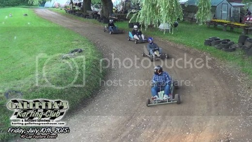 Cheaper, Faster, Better than Oswego Kartway: 7/10/2015 Makeup practice qualifier race