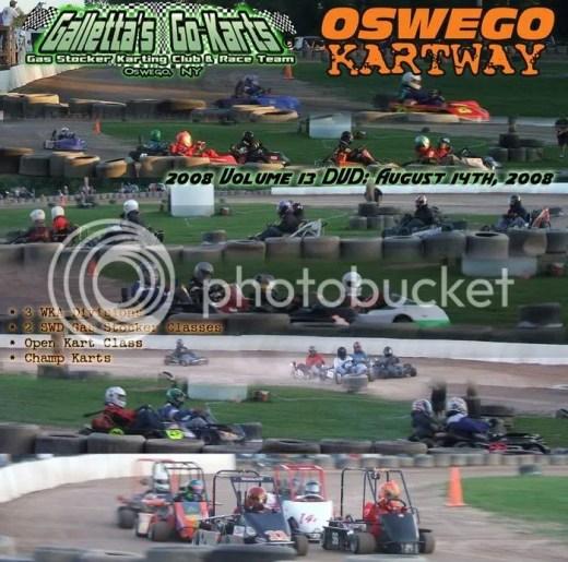 Oswego Kartway August 14, 2008 DVD