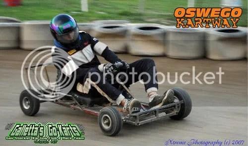 Mike MC Howell in Galletta's Greenhouse #6 (Oswego Speedway Kartway 2007)