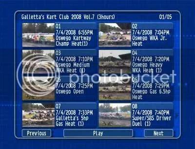 Oswego Kartway 2008/07/04 DVD 1