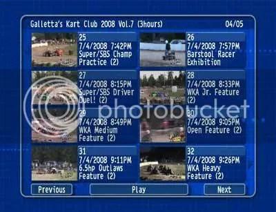 Oswego Kartway 2008/07/04 DVD 4