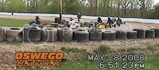 Gas Stocker Feature win - Oswego Kartway 8/5/2008