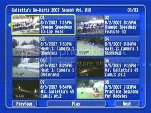 Galletta's Go-Kart 2007 #10 DVD!