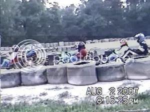 Yard Kart Race begins at Oswego Speedway