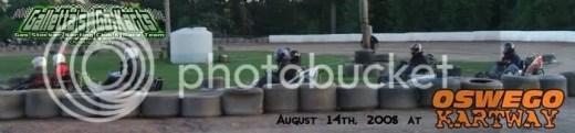 Galletta's at Oswego Kartway (8/14/2008)