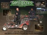 Matt STevens wins the 14th Annual Opener at John J. Galletta Memorial Karting Speedway