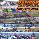 Oswego Dirt Karting 2008 Volume 6 DVD - 5/19/2008