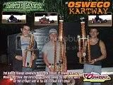 Oswego Kartway 2nd Annual Classic - Gas Stocker Division: Chris, Wes & Matt sweep again!