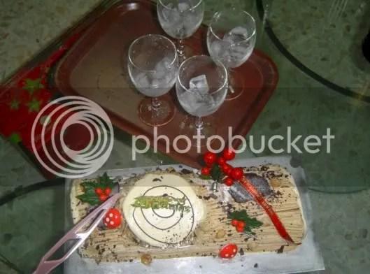 Christmas Log Cake!