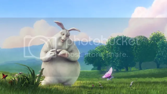 bbb-splash.png Big Buck Bunny Poster picture by Kanti-kun