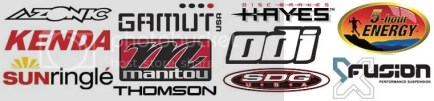 2008 Factory Team Sponsors