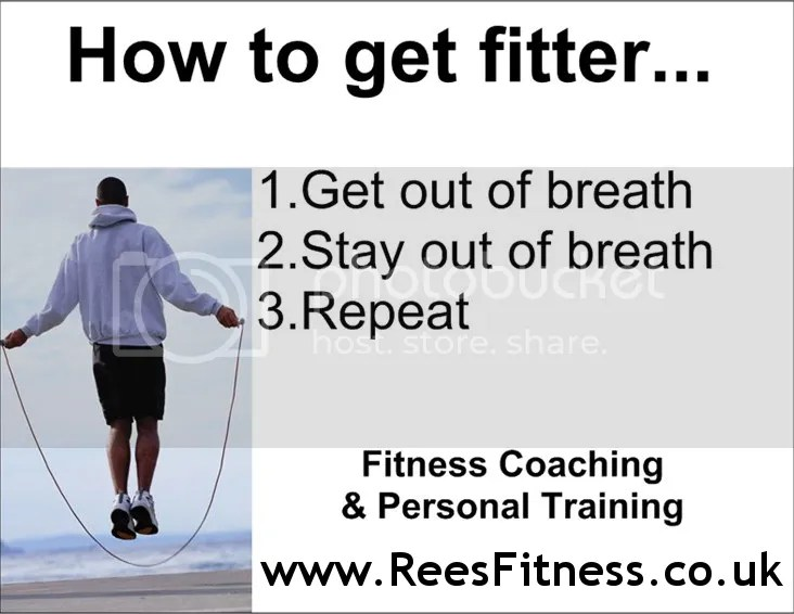 How to get fitter