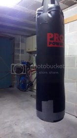 Punchbag in the dungeon