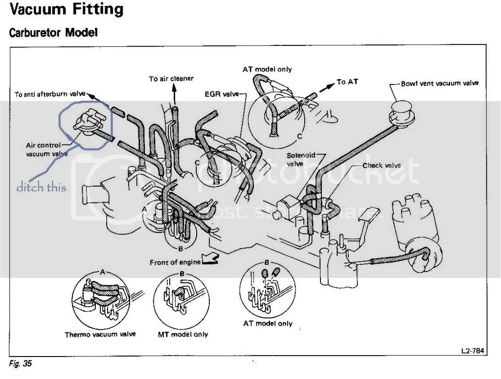 Need Vacumn Hose Diagram For Subaru Gl Wagon