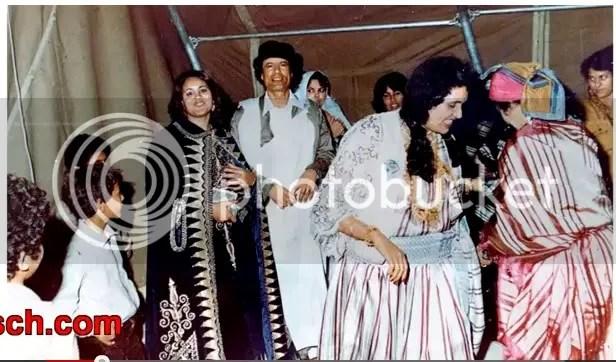 Gadhafi wedding