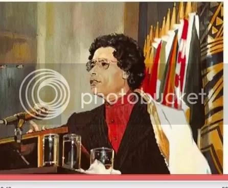 Gadhafi lectures