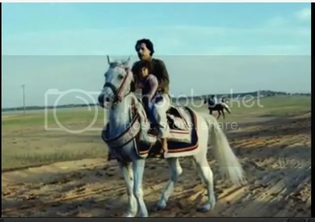 horseback with baby Hannah