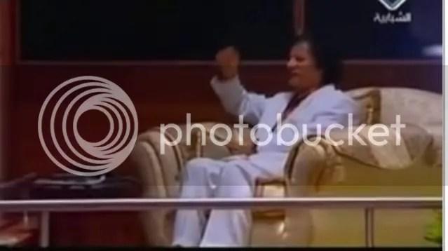 Gadhafi at BBC