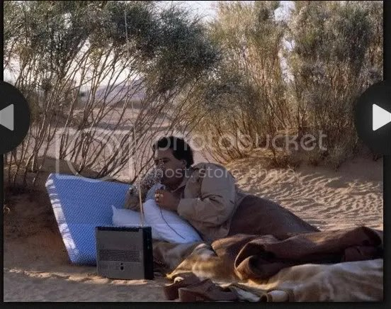 Gadhafi strategy in the desert