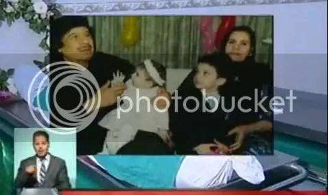 Gahafi grandpa with perished children