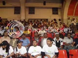 Participants Queued up