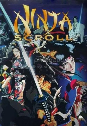 Ninja Scroll - Babys First Anime