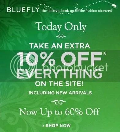 Bluefly sale