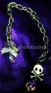 my Tarina Tarantino skull bracelet