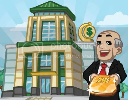 cityville bank upgrade